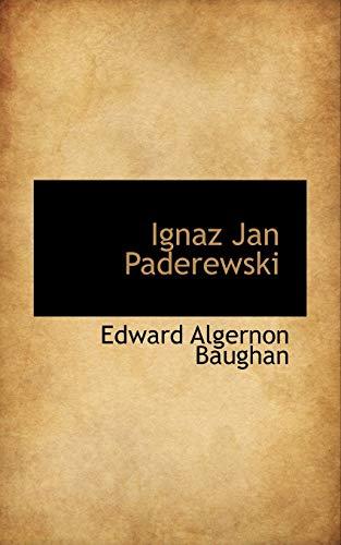 9780559414565: Ignaz Jan Paderewski