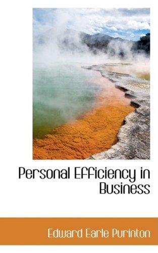 9780559440533: Personal Efficiency in Business