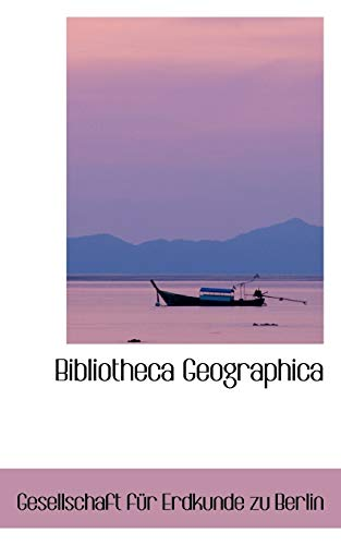 9780559463068: Bibliotheca Geographica