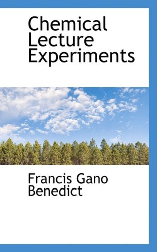 9780559495250: Chemical Lecture Experiments