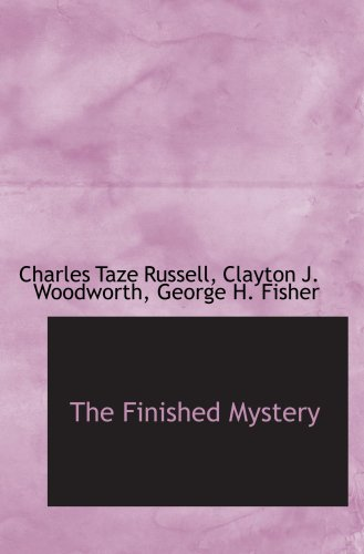 9780559508226: The Finished Mystery