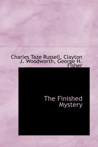 9780559508271: The Finished Mystery (Studies in the Scriptures: Bibliobazaar Reproduction)