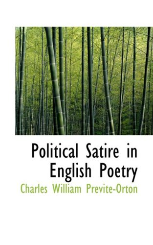 9780559510779: Political Satire in English Poetry