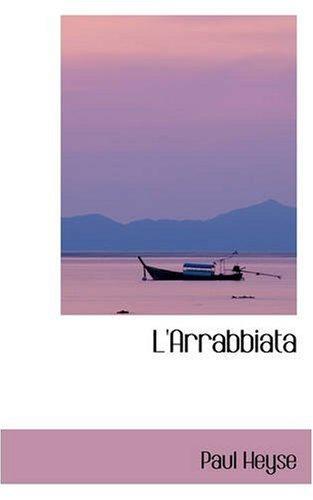 9780559525650: L'Arrabbiata