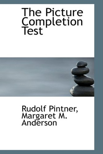 9780559555756: The Picture Completion Test