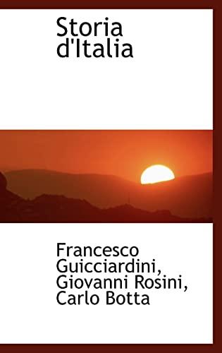 9780559592362: Storia d'Italia (Italian Edition)