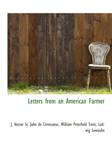 9780559597541: Letters from an American Farmer