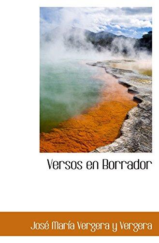 9780559603266: Versos en Borrador