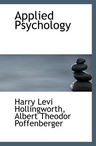9780559604287: Applied Psychology