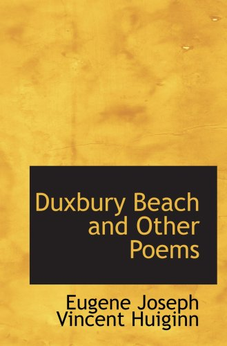 9780559607165: Duxbury Beach and Other Poems