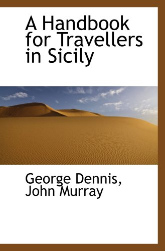 9780559619458: A Handbook for Travellers in Sicily