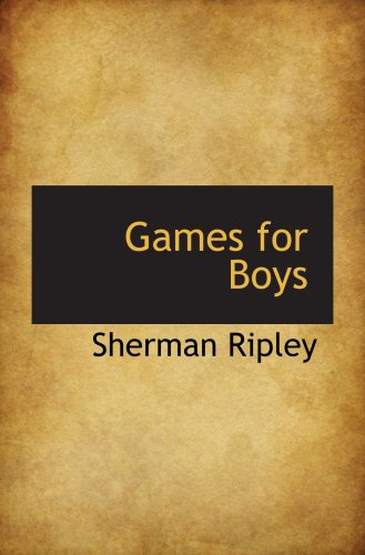 9780559674228: Games for Boys