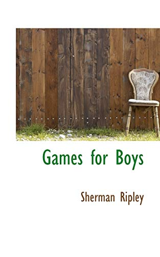 9780559674242: Games for Boys