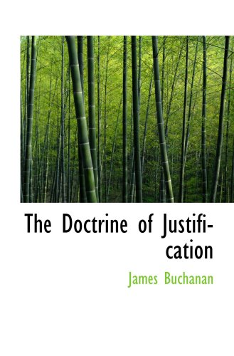 9780559695179: The Doctrine of Justification