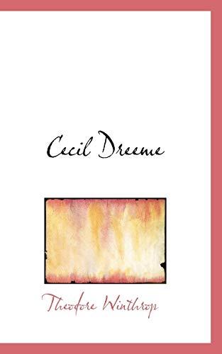 Cecil Dreeme: Theodore Winthrop