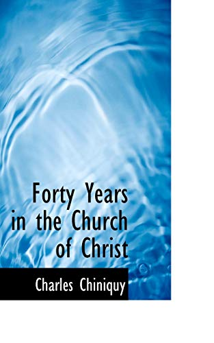 9780559723506: Forty Years in the Church of Christ