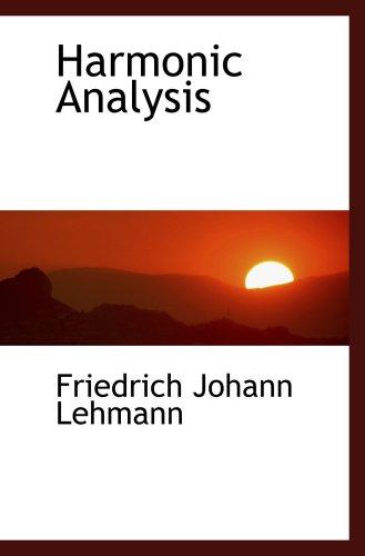 9780559739361: Harmonic Analysis