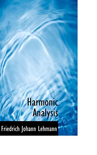 9780559739408: Harmonic Analysis