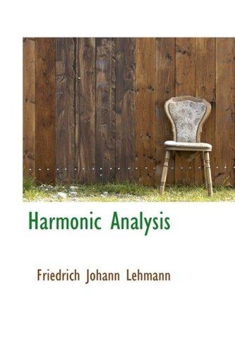 9780559739439: Harmonic Analysis