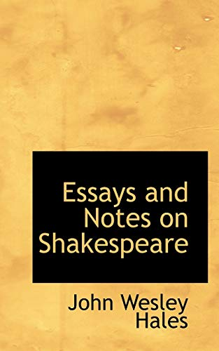 9780559753169: Essays and Notes on Shakespeare