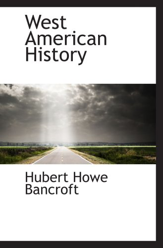 9780559760525: West American History