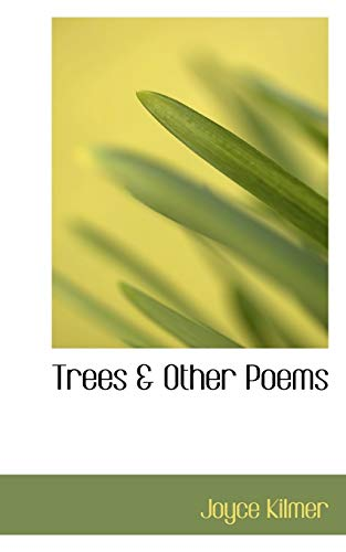 9780559774645: Trees & Other Poems