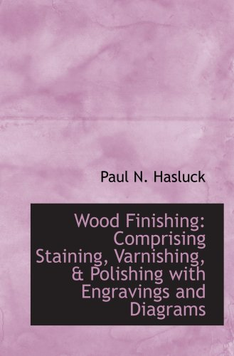 9780559781667: Wood Finishing: Comprising Staining, Varnishing, & Polishing with Engravings and Diagrams