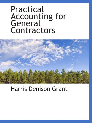 9780559782015: Practical Accounting for General Contractors