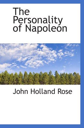 9780559792045: The Personality of Napoleon
