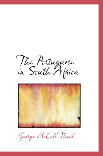 9780559808746: The Portuguese in South Africa