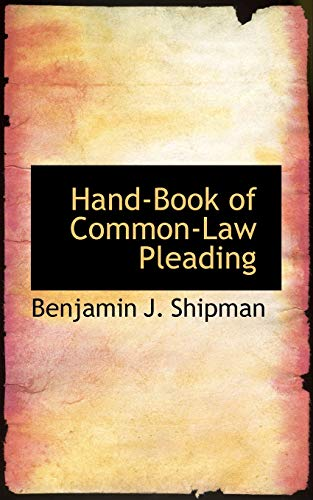9780559827822: Hand-Book of Common-Law Pleading