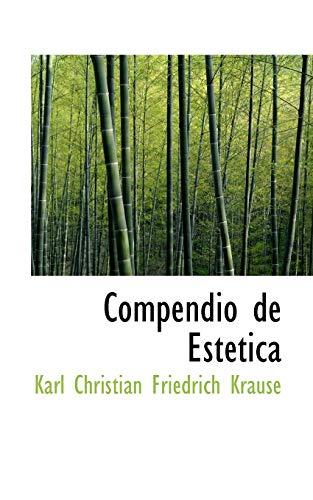 9780559846052: Compendio de Est�tica