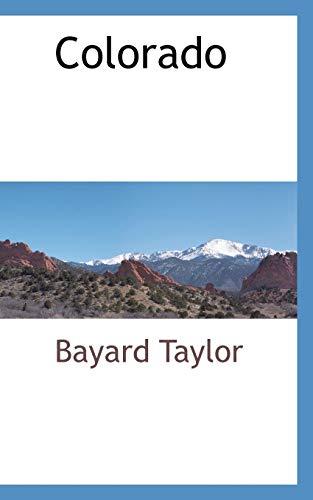 9780559894015: Colorado