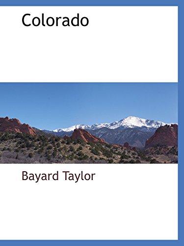 9780559894749: Colorado