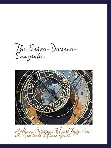 9780559913822: The Sarva-Darsana-Samgraha