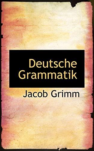 9780559921728: Deutsche Grammatik (German Edition)