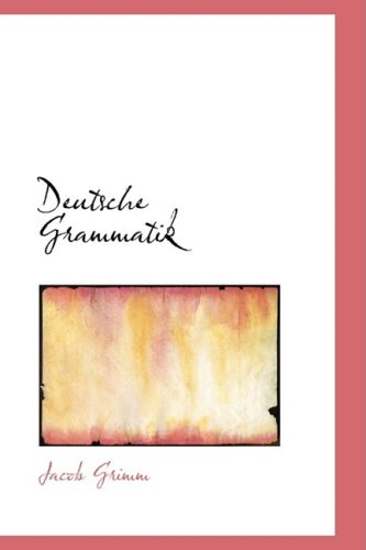 9780559921759: Deutsche Grammatik (German Edition)