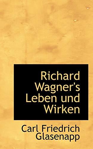 9780559931734: Richard Wagner's Leben und Wirken