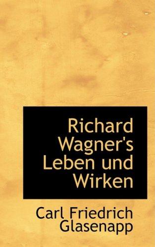 9780559931765: Richard Wagner's Leben und Wirken