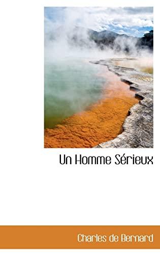 9780559944642: Un Homme Sérieux (French Edition)