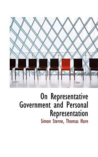 9780559968501: On Representative Government and Personal Representation