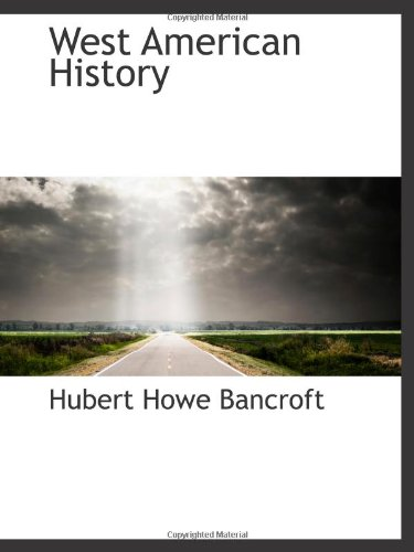 9780559981395: West American History