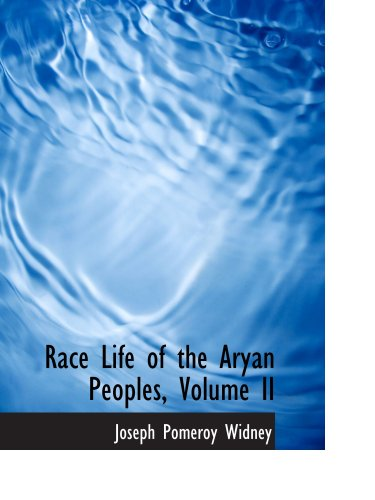 9780559988820: Race Life of the Aryan Peoples, Volume II