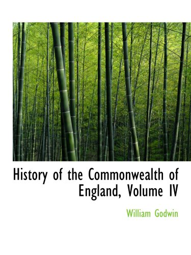 9780559995088: History of the Commonwealth of England, Volume IV