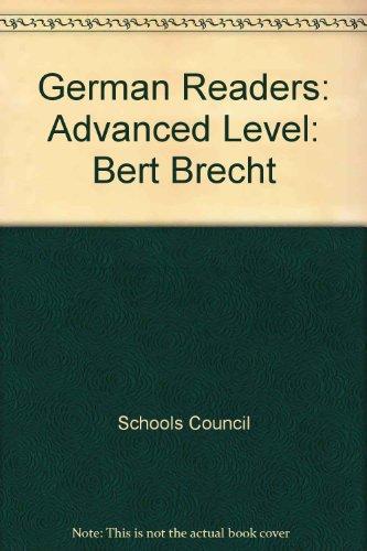 9780560025415: German Readers: Bert Brecht: Advanced Level