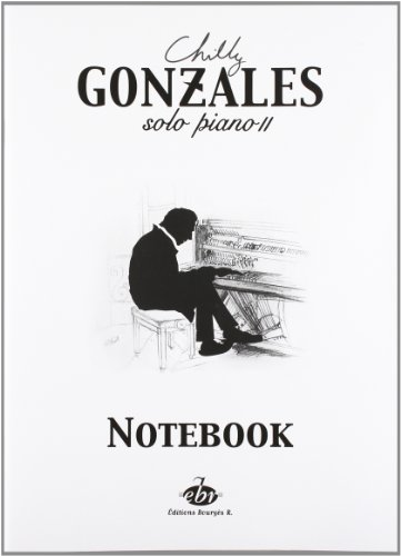 9780560154023: Chilly Gonzales: Solo Piano II - Notebook