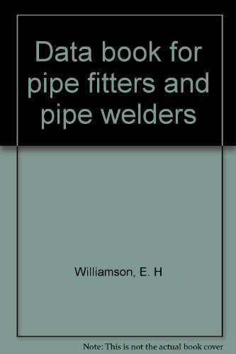 9780561002910: Data Book for Pipe Fitters and Pipe Welders