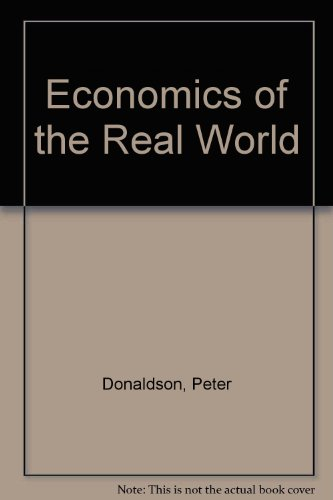 9780563107774: Economics of the Real World