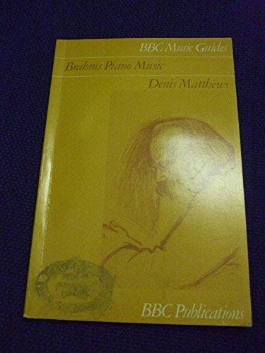 9780563129813: Brahms Piano Music