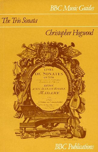 9780563170952: The Trio Sonata (Music Guides)